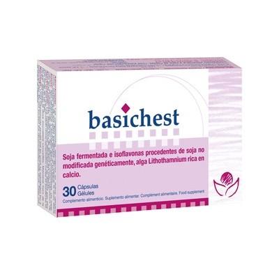 Bioserum Basichest Isoflavonas de soja 30 cápsulas