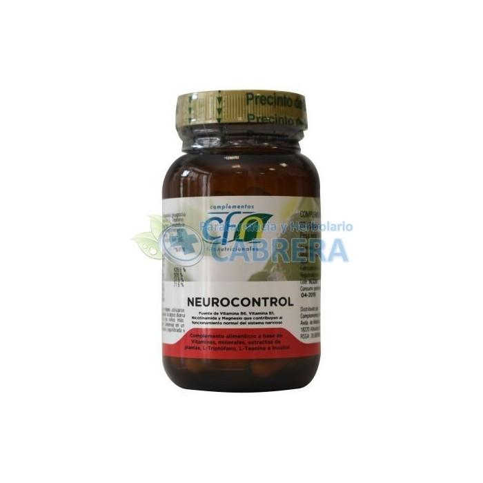 Cfn Neurocontrol (Neurorelax) 60 cápsulas