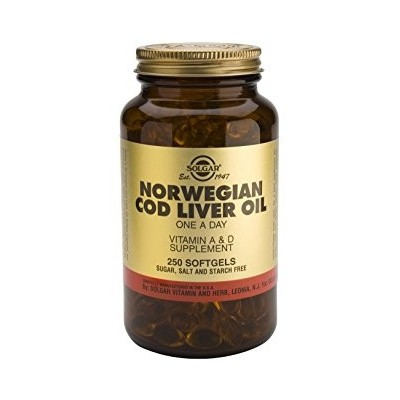 Solgar Aceite Hígado Bacalao (Cod Liver Oil) 250 cápsulas