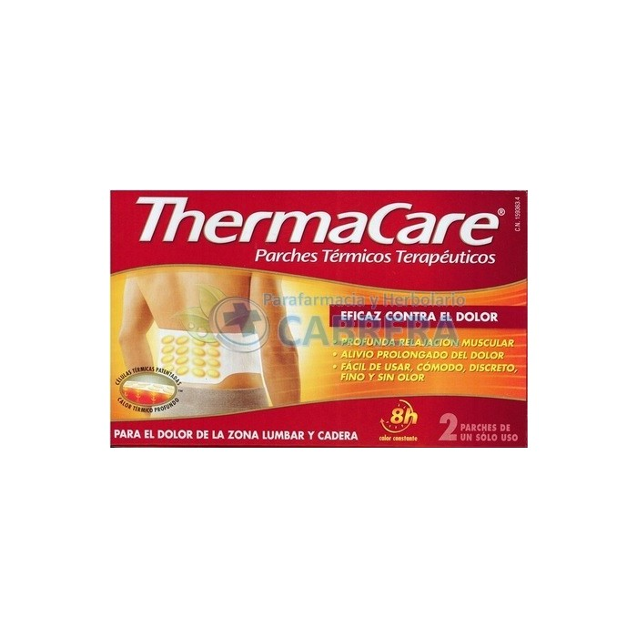 Thermacare Parches Térmicos Lumbar 2 unidades