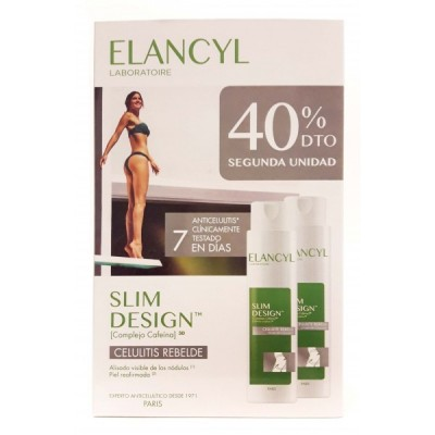 Elancyl Slim Design Anticelulítico Duplo 2x200 ml