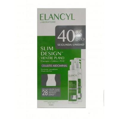 Elancyl Slim Design Vientre Plano Duplo 2x150 ml