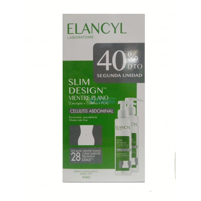 Elancyl Slim Design Vientre Plano Duplo 2x150 ml