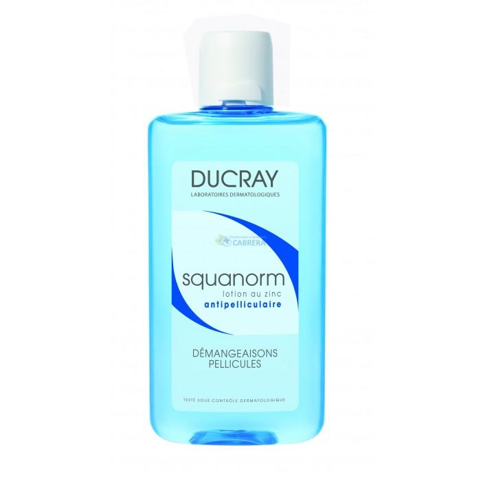 Ducray Squanorm Loción Anticaspa con Zinc
