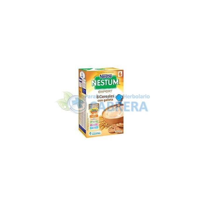 Nestlé Expert 8 Cereales con Galletas 600 gr