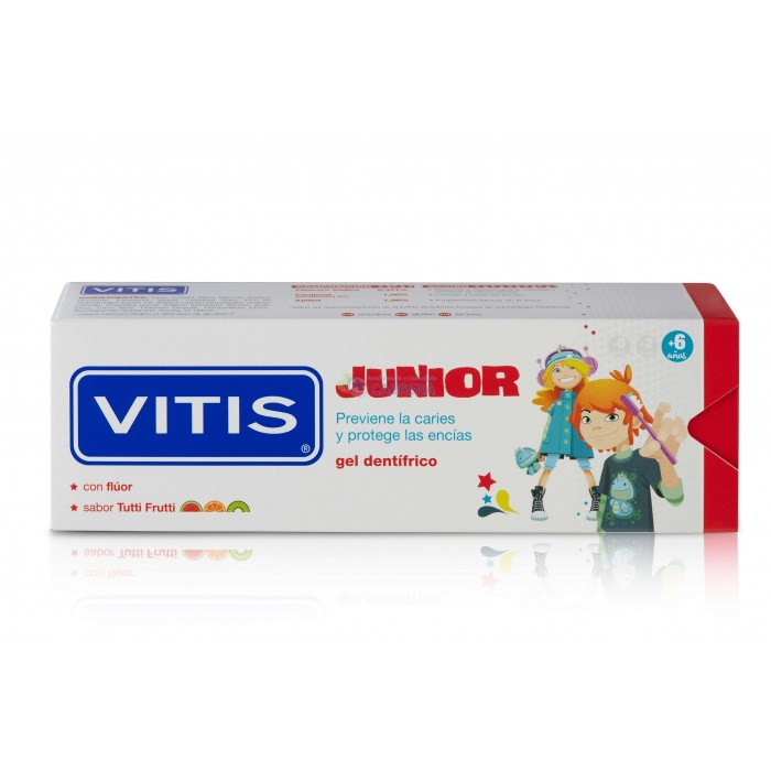 Dentaid Vitis Junior Gel Dentífrico Infantil 75 ml