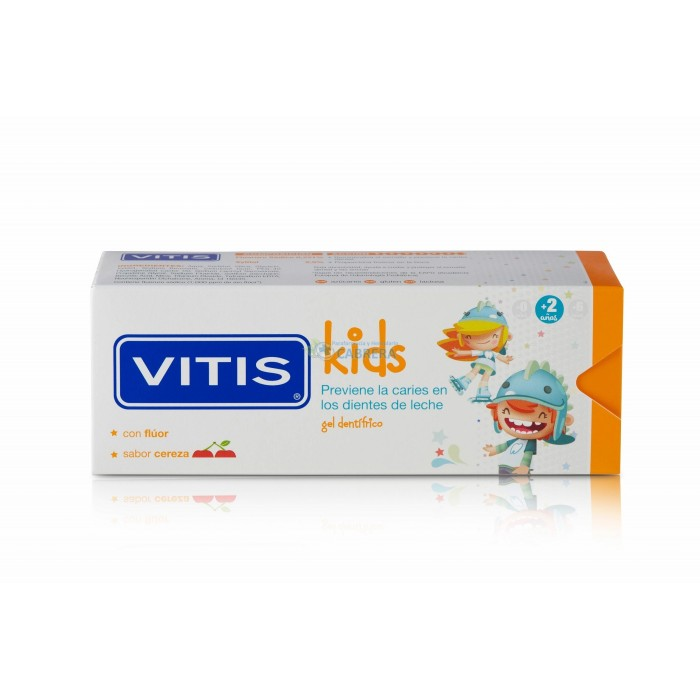 Vitis Kids Gel Dentífrico