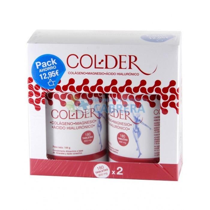 Colder Colágeno Tabletas Promo 2x180