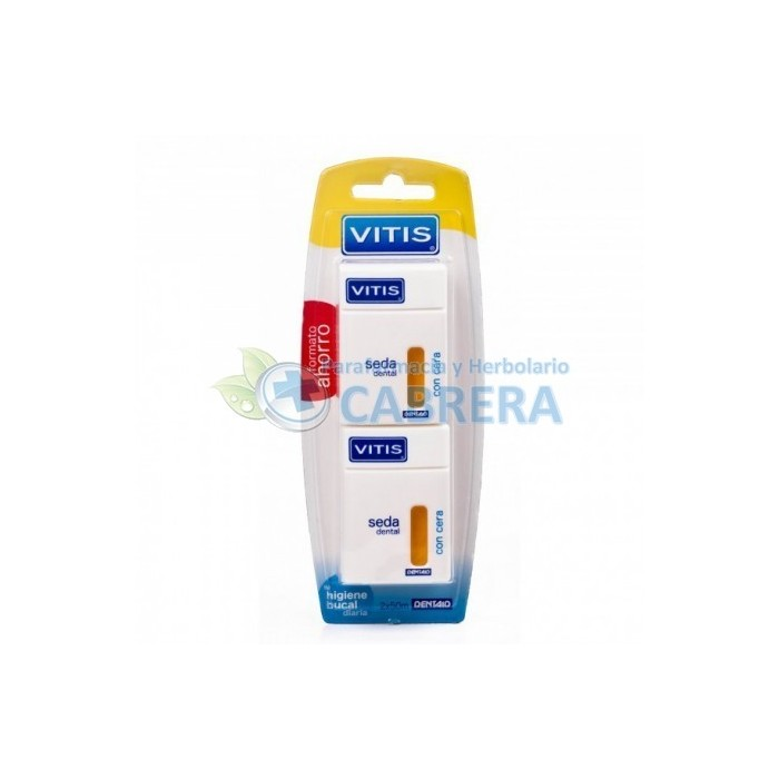Dentaid Vitis Seda Dental con Cera Duplo