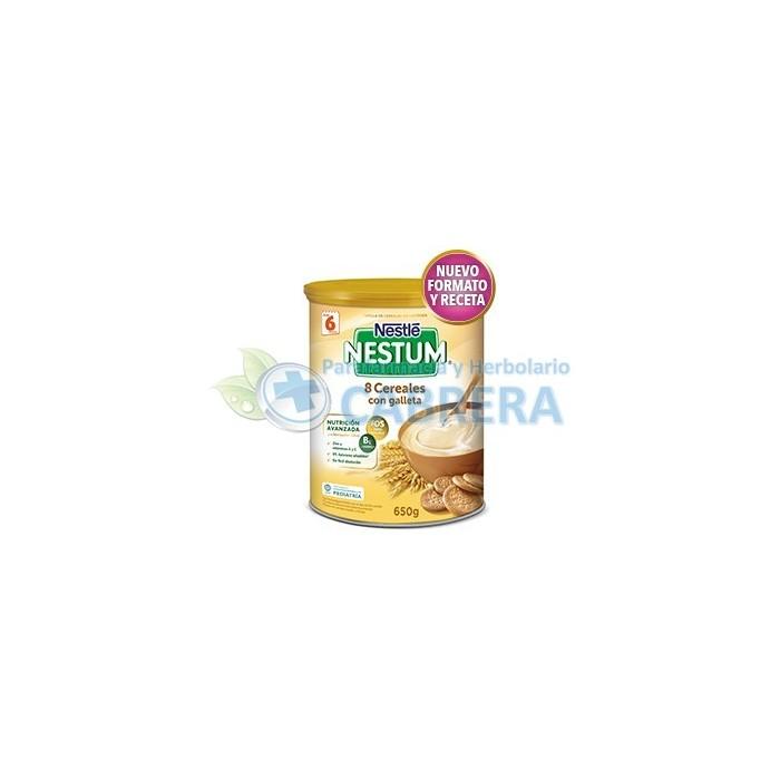 Nestlé Expert 8 Cereales con Galletas 650 gr