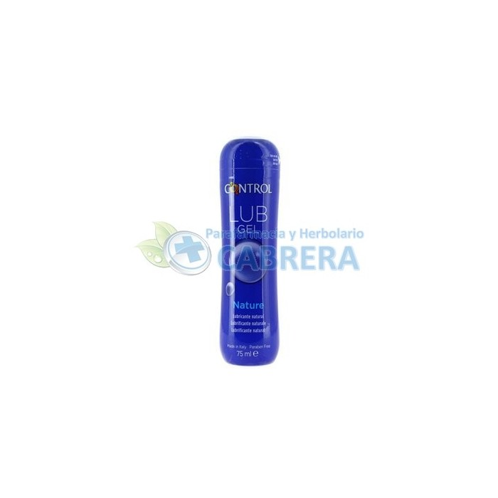 Control Gel Lubricante Natural 75 ml