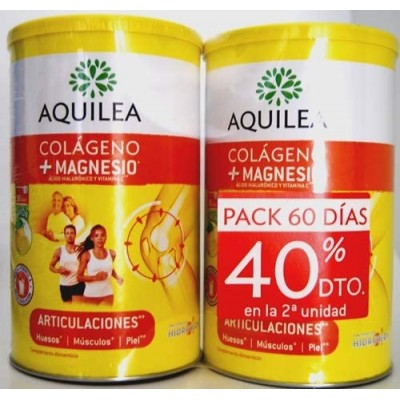Aquilea Articulaciones Colágeno Magnesio Duplo 2x375 gr