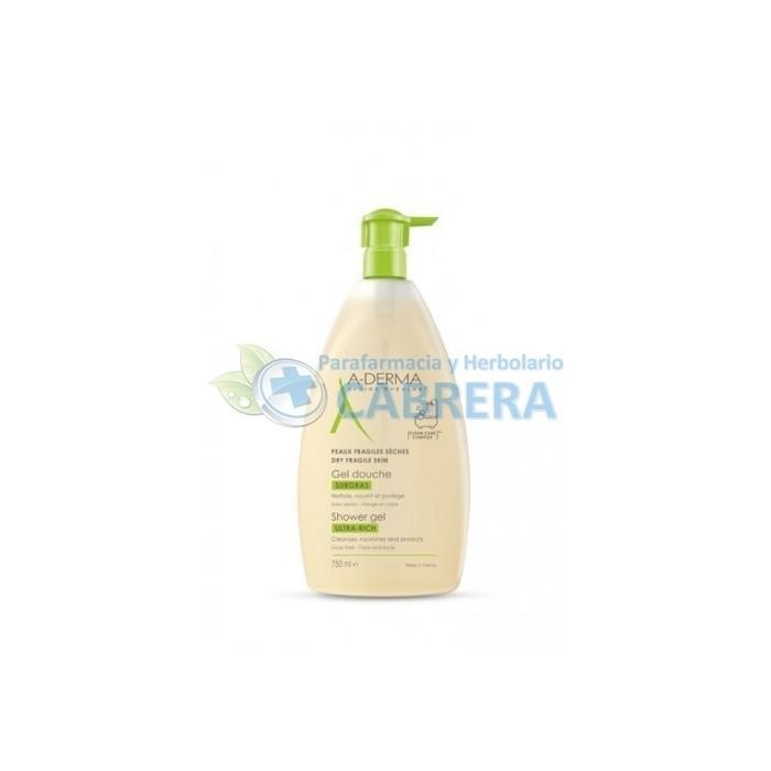 Aderma Gel Ducha Sobregraso 750 ml
