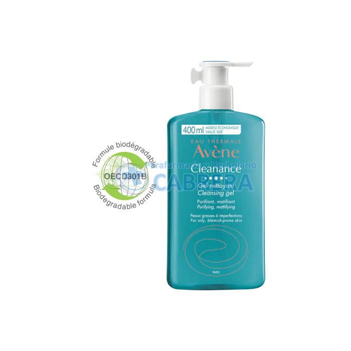 Avène Cleanance Gel Limpiador 400 ml