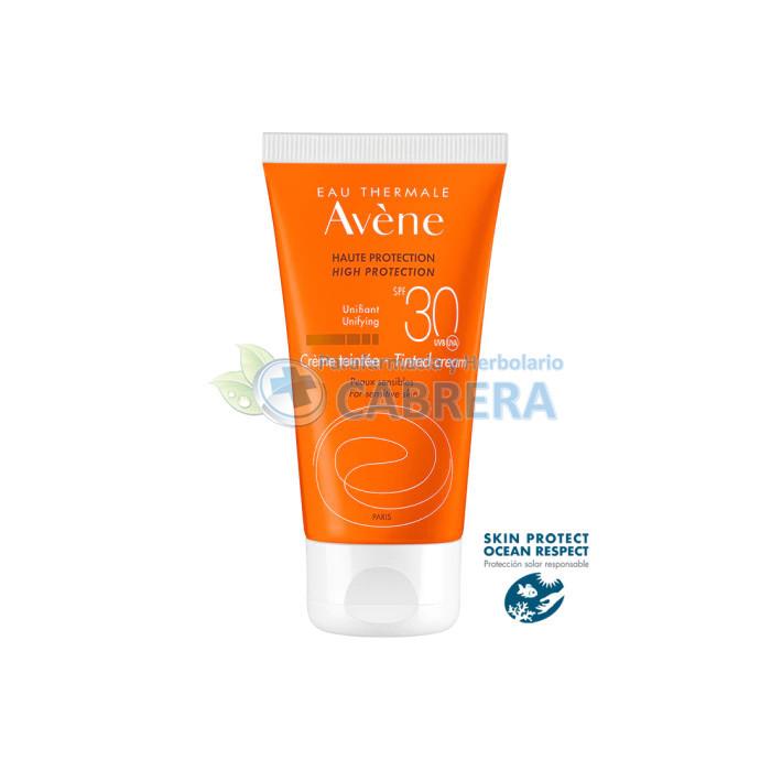 Avène Crema Solar SPF30 Coloreada 50 ml