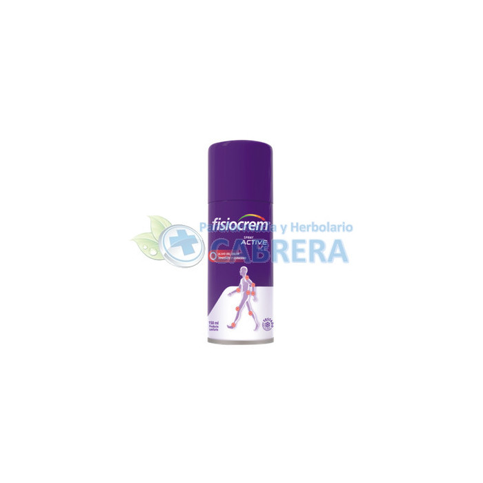 Fisiocrem Spray Active Ice