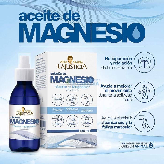 Ana María Lajusticia Aceite Magnesio