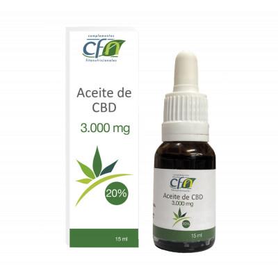 Aceite CBD 3000mg 20%