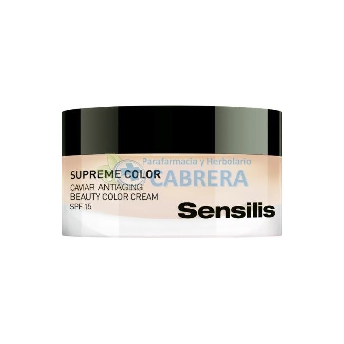 Sensilis Supreme Color Crema de Día Regeneradora con Caviar 50 ml