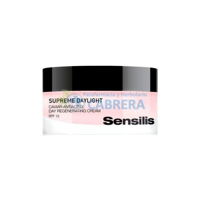 Sensilis Supreme Daylight Crema Regeneradora de Día Antiarrugas 50 ml