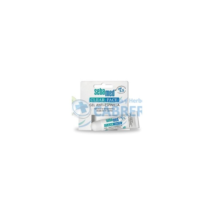 Leti Sebamed Clear Face Gel Antiespinillas 10 ml