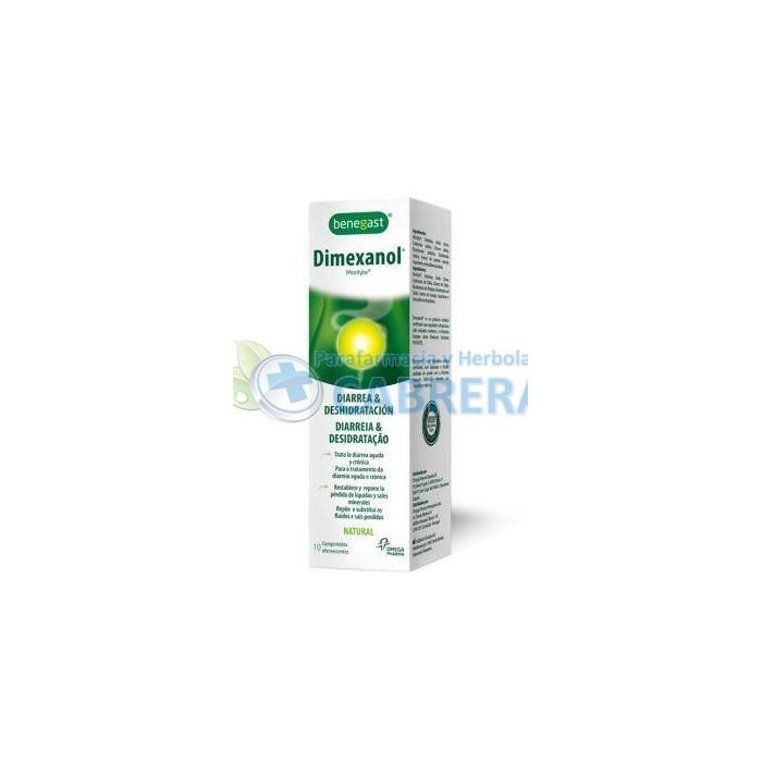 Benegast Dimexanol 10 comprimidos efervescentes