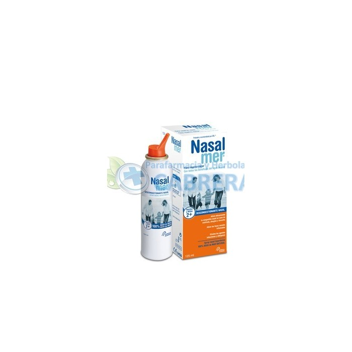 Nasalmer Spray Nasal Hipertónico 125 ml