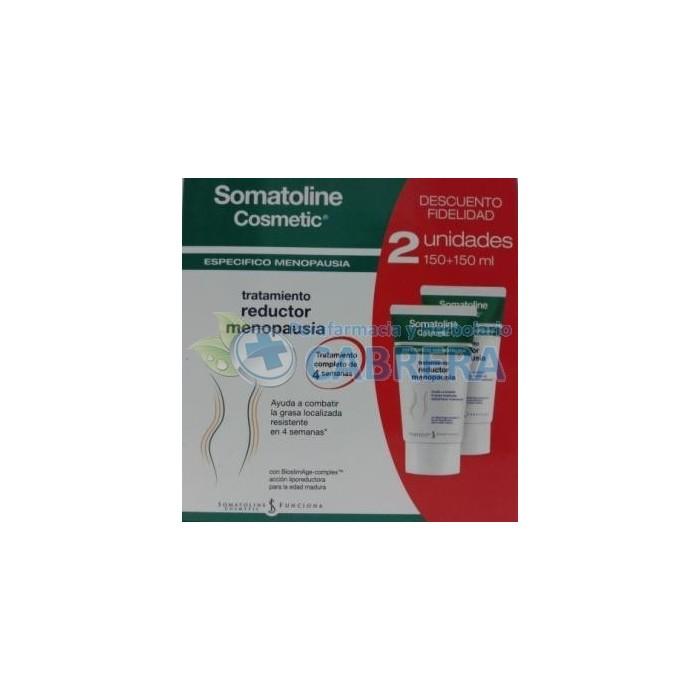 Somatoline Reductor Menopausia duplo 2x150 ml