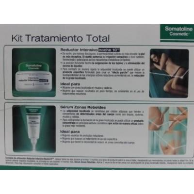 Somatoline Kit Tratamiento Total (Intensivo Noche 10 + Sérum Zonas Rebeldes)