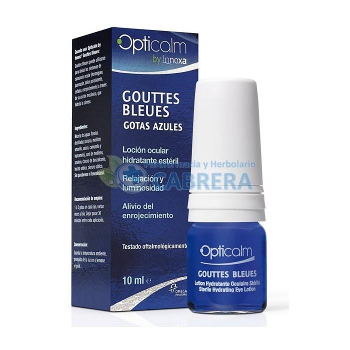 Opticalm Loción Ocular Gotas Azules 10 ml