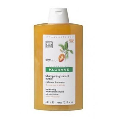 Klorane Champú Manteca de Mango 400 ml