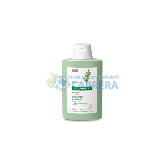 Klorane Champú Mirto Anticaspa Grasa 200 ml