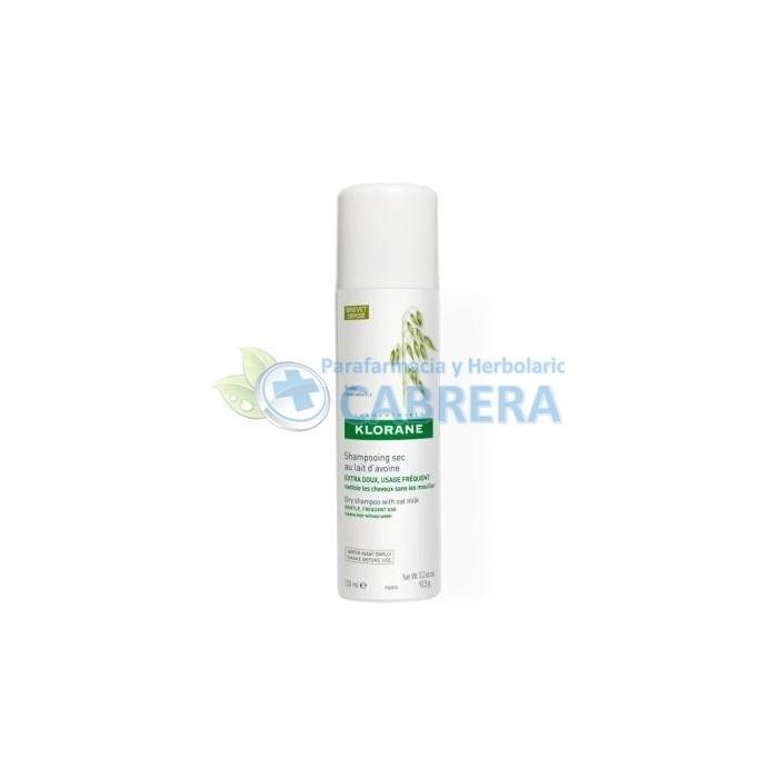 Klorane Champú Seco Leche de Avena Extrasuave 150 ml