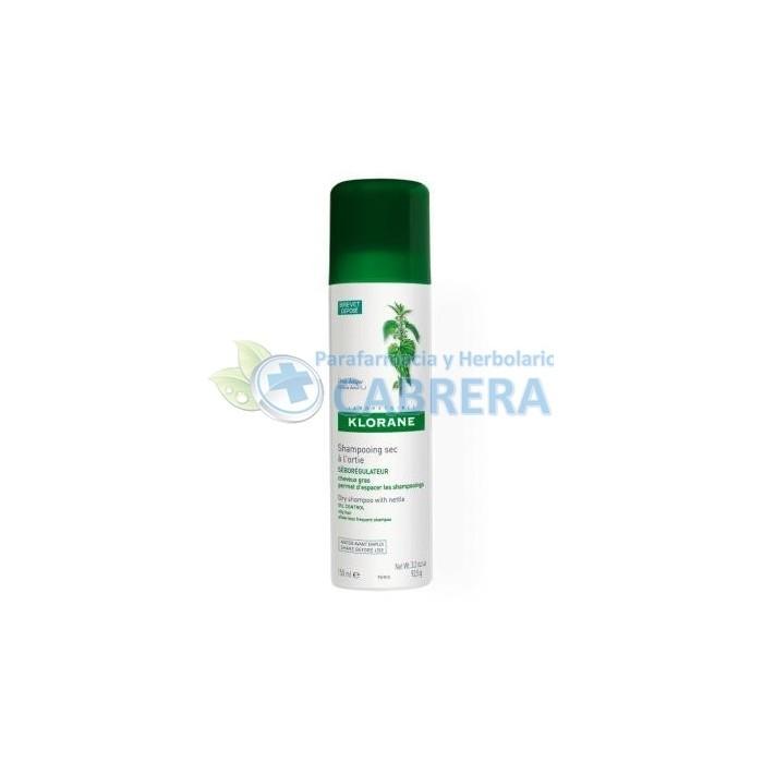 Klorane Champú Seco Ortiga Antigrasa 150 ml