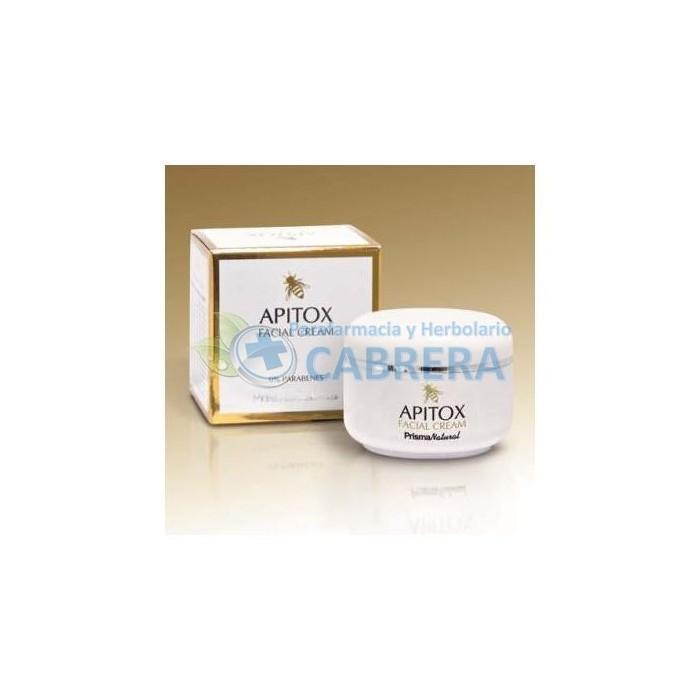 Apitox Crema Facial Antiarrugas Veneno Abeja (Apitoxina) Ácido Hialurónico Colágeno Marino 50 ml