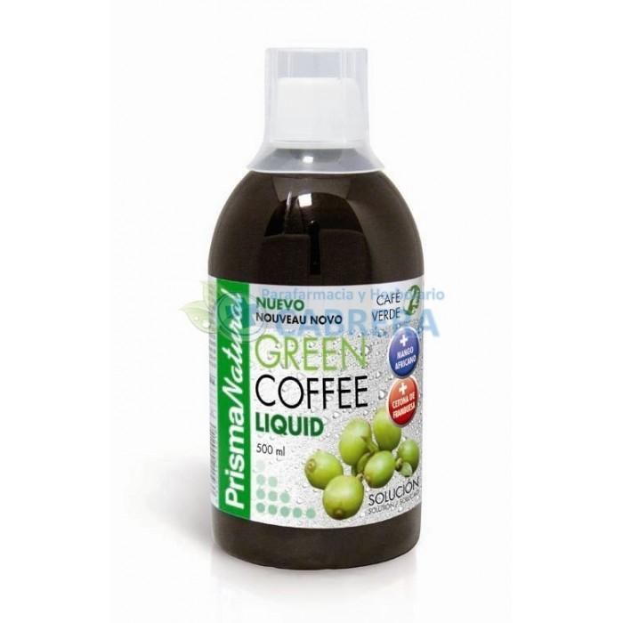Café Verde Líquido Green Coffee Cetona Fambuesa Colágeno Marino 500 ml