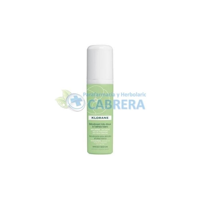 Klorane Desodorante Altea Blanca Vaporizador