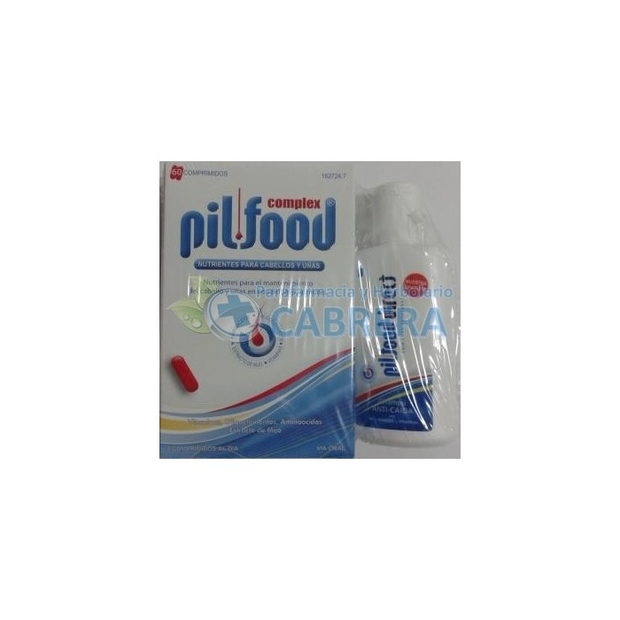Pilfood Direct Complex Vitaminas Cabello 60 comprimidos