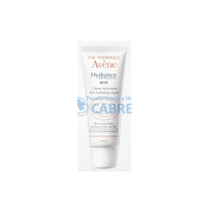 Avene Hydrance Optimale Enriquecida piel seca (Regalo Mobile Box)