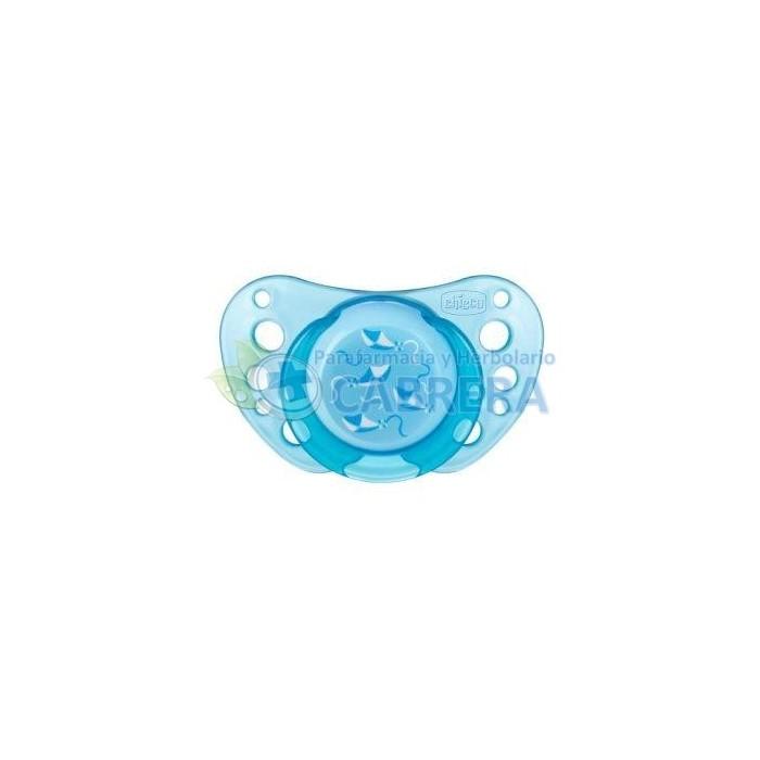 Chicco Chupete Physio Air Caucho Azul 2 unidades