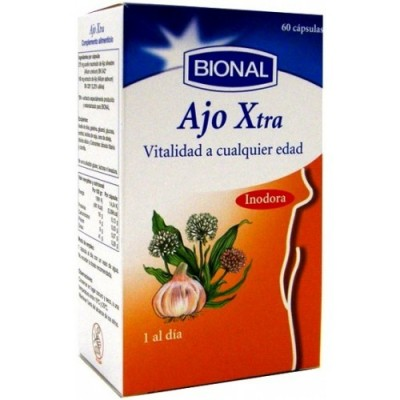 Bional Ajo Xtra 60 cápsulas